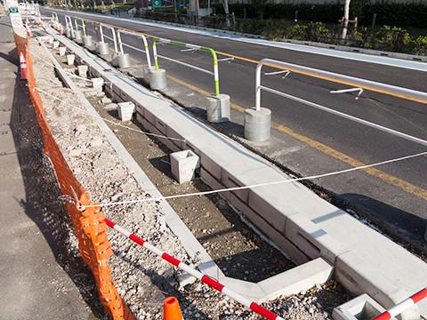 外構工事や公共土木工事、一般道路舗装工事